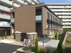 越谷市大字大里のアパートの画像