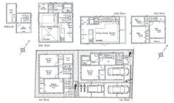 相模原市中央区共和新築住宅の画像