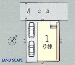 新築分譲住宅 富士見市山室 全1棟の画像