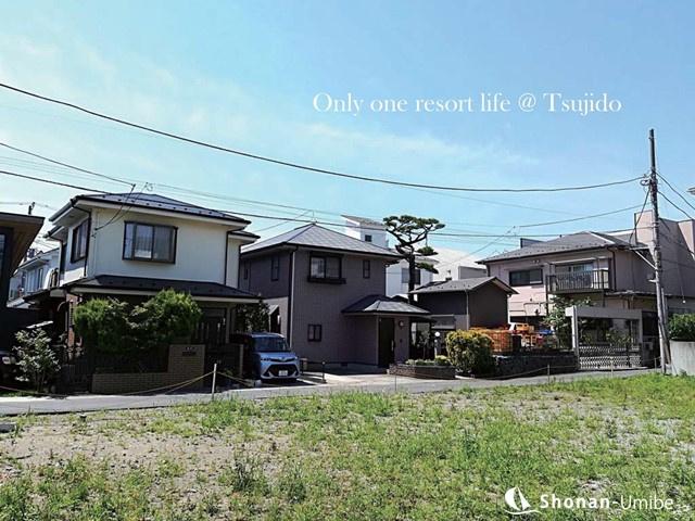 藤沢市・辻堂東海岸:7980万円|海近くの土地|【サーファー通りを中心に】