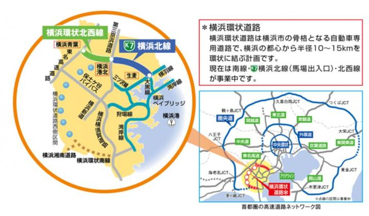 横浜北西線が開通すると青葉区周...