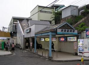 京急富岡近辺の画像