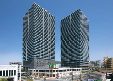 メガシティタワーズTHE EAST/THE WEST(東棟/西棟)【購入・売却・買取】の画像