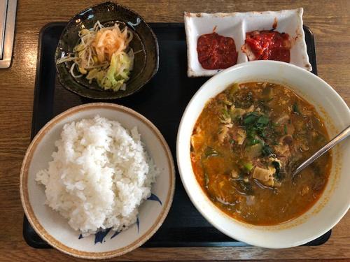 テグタン スープ