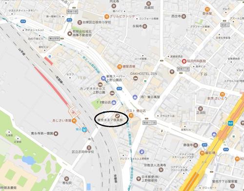 東京 キネマ 倶楽部 アクセス