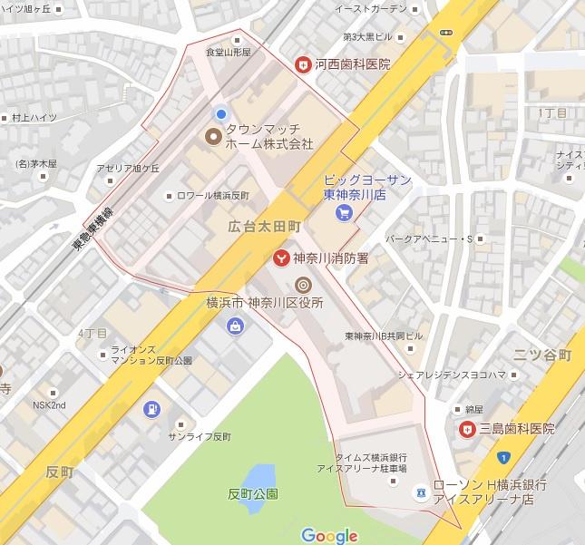 広台太田町 反町・東神奈川エリ...