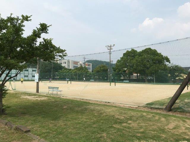 テニス 城山 コート 公園